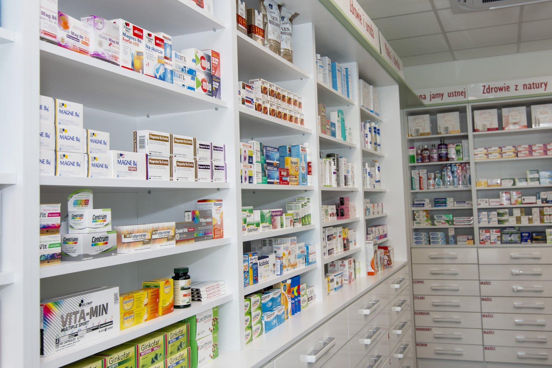 Asortyment w naszych aptekach